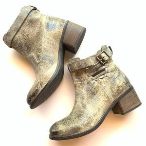 DIBA TRUE (ANTHROPOLOGIE) Leather Ankle Booties